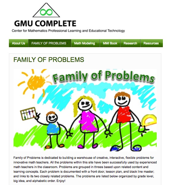 Family of Problems from Lesson Study