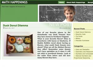 math happening blog